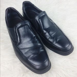 Bruno Magli 9 Italian Leather Black Loafer Men's